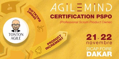 Certification PSPO 1 (Professional Scrum Product Owner) billets