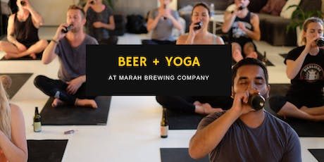 Beer & Yoga at Marah Brewing Co. tickets