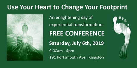 Use Your Heart to Change Your Footprint  tickets
