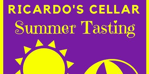 Ricardo's Cellar Summer Tasting - Multibuy Ticket for 10