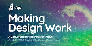 Making Design Work