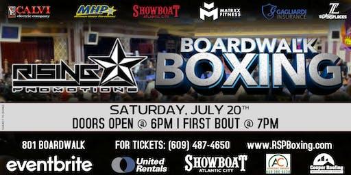 Boardwalk Boxing: Live Professional Boxing