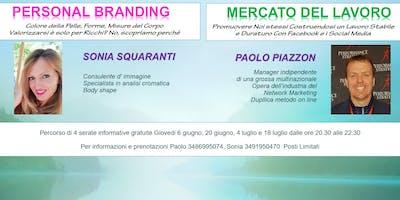 Personal Branding e Lavoro On-Line. Prima Serata