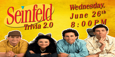 Seinfeld Trivia 2.0 w/ Hangman tickets
