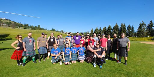 Kamloops Highland Games Heavy Events