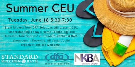 Summer CEU-Knoxville tickets