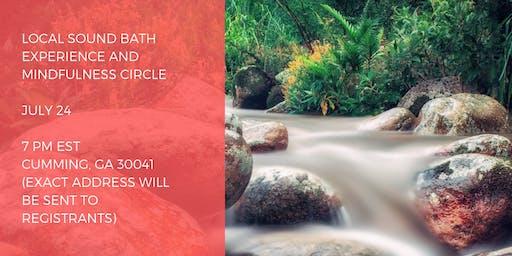 Mindfulness and Sound Meditation Circle