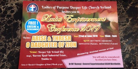 Ladies of Purpose Conference 2019 tickets