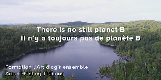 Il n'y a toujours pas de planète B | There's still no planet B