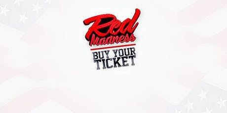 Red Madness Saturday 29th June at A61 brand new area Tickets