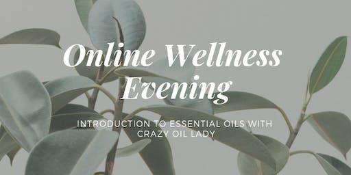 Online Wellness Evening with doTERRA Essential Oils