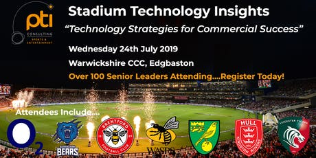 Stadium Technology Insights Session tickets