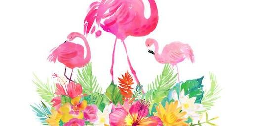 Flamingo Fun Cookie Class