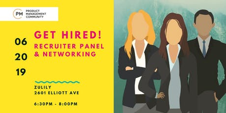 Get Hired! RECRUITER PANEL & NETWORKING tickets
