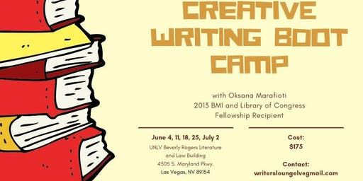 Creative Writing Boot Camp Series