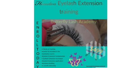 Classic eyeLash extension training tickets
