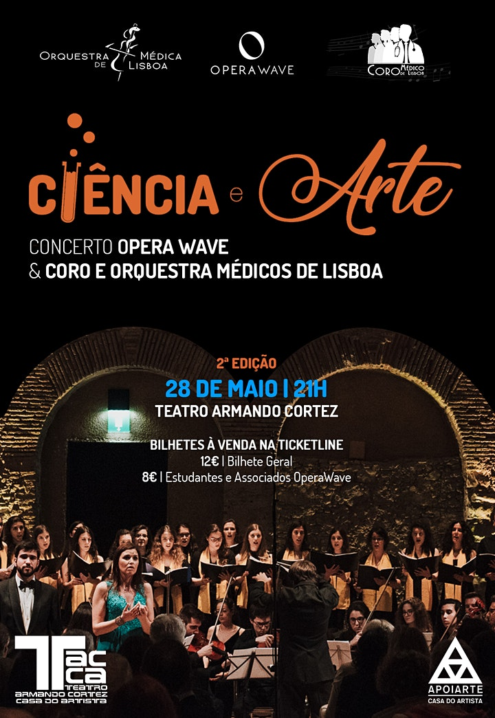 imagem Concerto Ciência & Arte - II edição