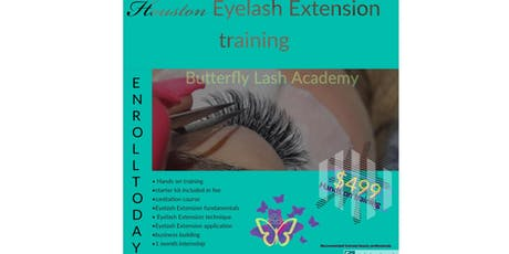 Classic & Hybrid EyeLash extension Summer training tickets