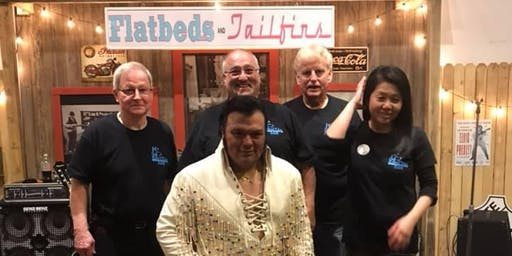 Elvis Tribute Show - Randoll Rivers and The Rivers Edge Band