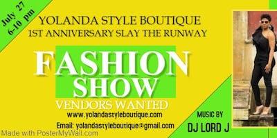 Yolanda Style Boutique Fashion Show/Vendor Event