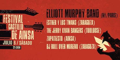 Elliott Murphy Band en Festival Castillo de Ainsa entradas