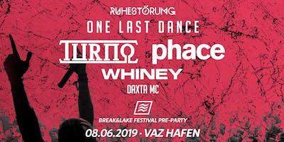 RUHESTÖRUNG | One Last Dance | BNL Pre-Party
