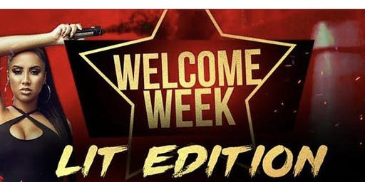 Welcome Week Lit Edition 2019