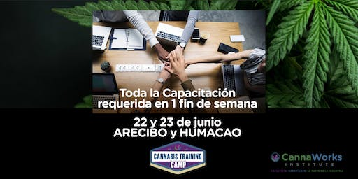 ARECIBO | RESERVA Cannabis Training Camp | 22 & 23 de Junio | CannaWorks Institute
