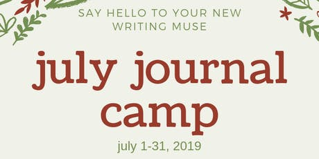 Virtual Journal Camp - JULY 2019 tickets