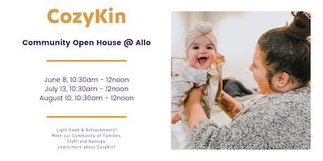 CozyKin Boston Open House @ Allo tickets