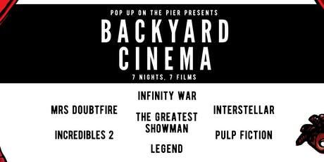 Popup on the Pier Cinema Week tickets
