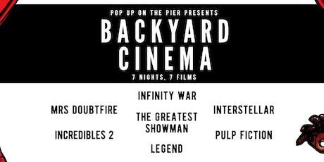 Popup on the Pier Cinema Week tickets