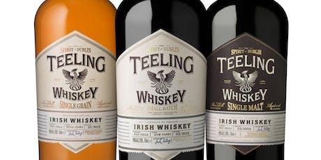 De Wine Spot: Teeling Irish Whiskey Tasting tickets