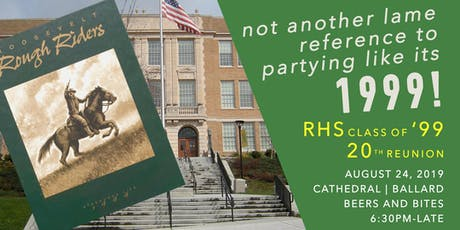 Roosevelt High School Class of '99 - 20th Reunion tickets