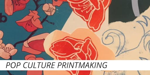 Pop Culture Printmaking School Program Workshop with Cath Hughes (90 min)