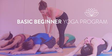 June WiseMind Yoga - 4 Week Beginners Summer Series w/ Michael  tickets