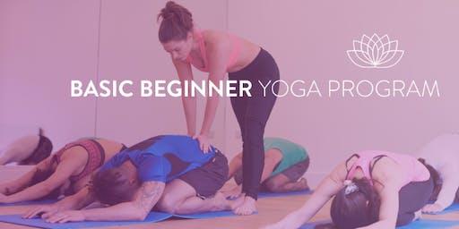 June WiseMind Yoga - 4 Week Beginners Summer Series w/ Michael