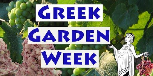 Garden Cooking Camp (Summer 2019): Greek Garden Week 2