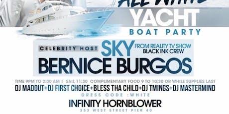 BERNICE BURGOS & SKY from BLACK INK CREW - SLAYDAY- LUXURY YACHT PARTY  tickets