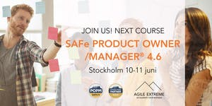 SAFe Product Owner/Manager 4.6®