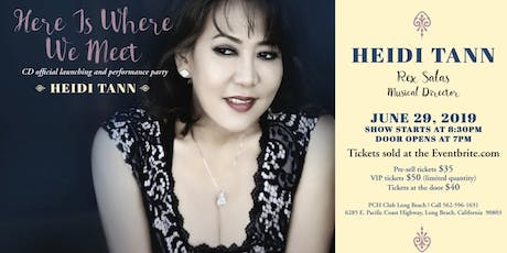 Heidi Tann CD Official Launching & Performance Party tickets