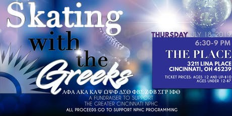 Skating With The Greeks: A Fundraiser for the Greater Cincinnati NPHC tickets