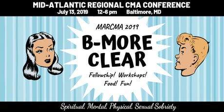 MARCMA 2019; B-More Clear tickets