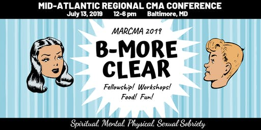 MARCMA 2019; B-More Clear