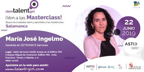 Master Class Stem Talent Girl - María José Ingelmo entradas