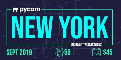 New York Pycom #GOINVENT World Series IoT Enterprise Workshop tickets