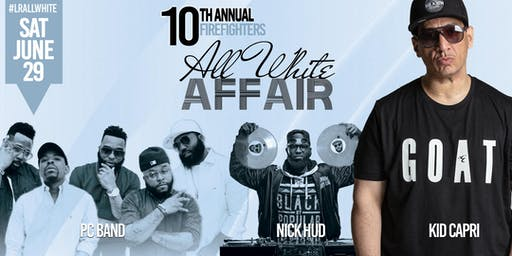 10th Annual Firefighters All White Affair