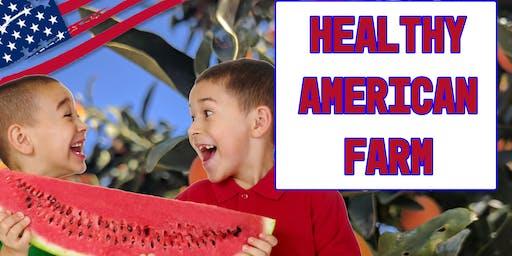 Garden Cooking Camp (Summer 2019): Healthy American Farm Week 1