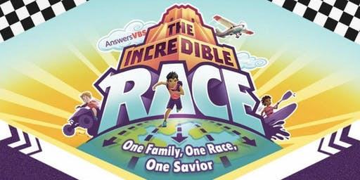 Vacation Bible School 2019 - The Incredible Race