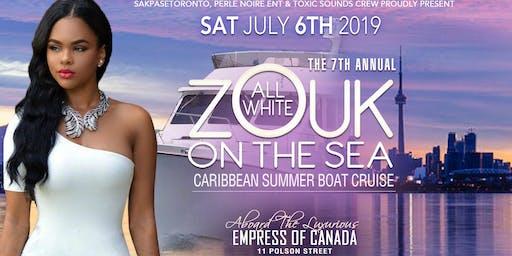 ALL WHITE ZOUK ON THE SEA
